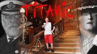 (Ghosts) Haunted Titanic Museum Alone | OmarGoshTV