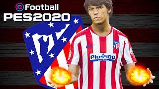 JOÃO FÉLIX ABUSADO FAZ GOL DE LETRA! - PES 2020 Master League | #4 | Atlético de Madrid