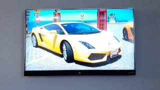 TCL 4k modelo 55 C2US Android TV e Soundbar integrado Harman/Kardon