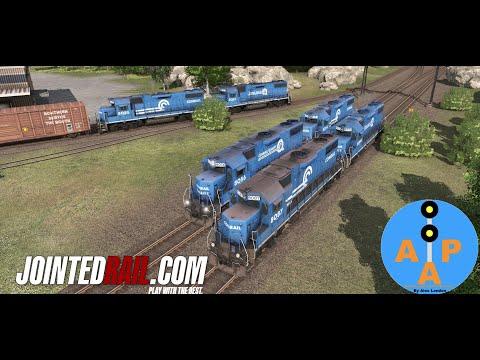 Jointed Rail EMD CR GP38-2 (Late) |