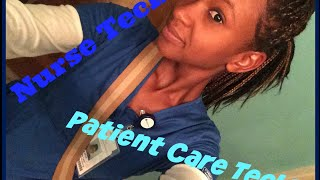 Nursing with Faith | What is the Difference Between a Patient Care Tech and a Nurse Tech?