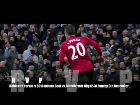 Robin Van Persie Goal vs Manchester City