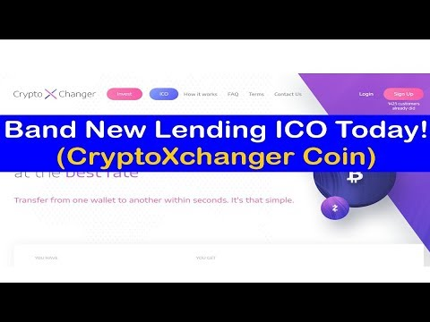Brand New Lending ICO Today! (CryptoXchanger Coin)