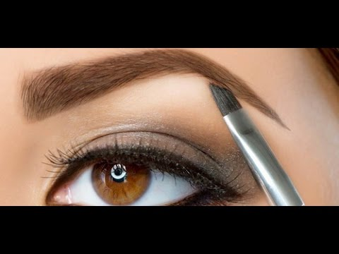 Cara Membentuk Alis Mata Sendiri Dengan Menggunakan Pensil Alis