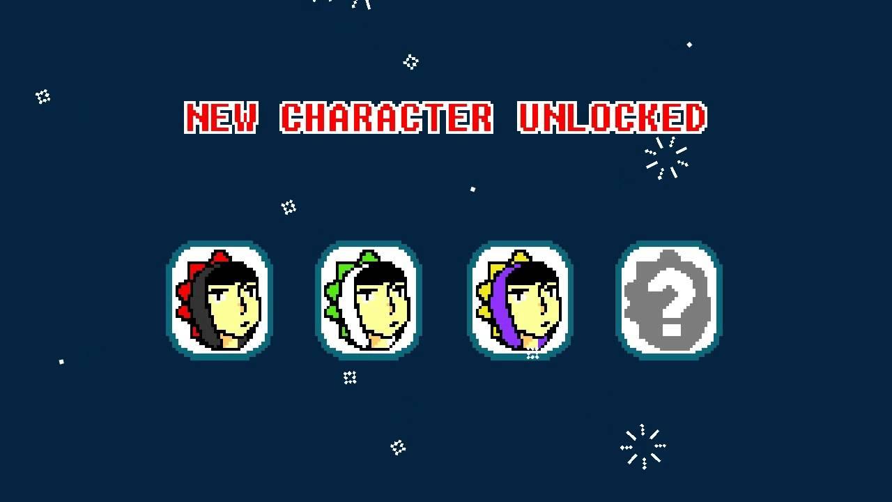 TSAS - New Character Unlocked
