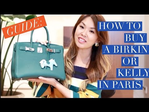 WANT A HERMES BIRKIN OR KELLY? | 2016 GUIDE to the NEW System in Paris
