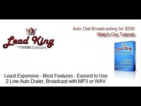 Lead King Software - Free Auto Dialer Software - LeadKingsoftware.com