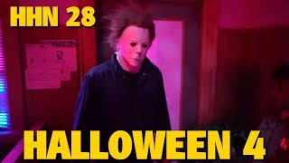 Halloween 4: The Return of Michael Myers HHN 28 Highlights | Universal Orlando