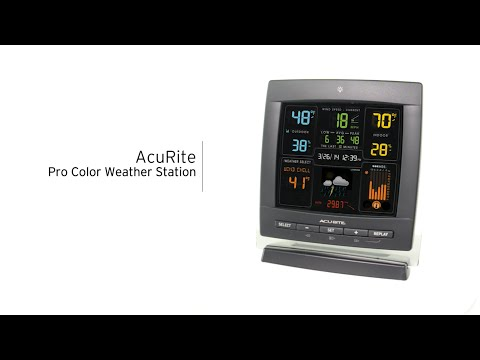 AcuRite Pro Color Weather Station with Wind Speed 00622