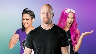 "Sasha Banks and Bayley fight over ""Stone Cold"" Steve Austin"
