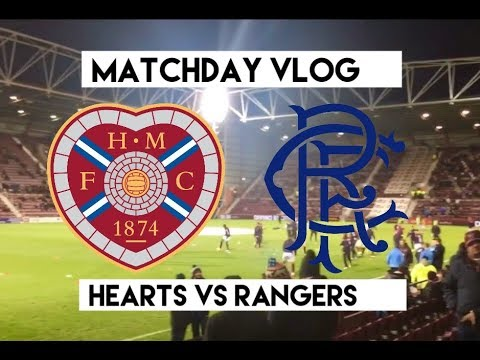 massive game hearts vs rangers matchday vlog season 2