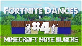 ♪ Fortnite Dances in Minecraft Note Blocks (Electro Swing, Phone It In, Disco Fever) ♪