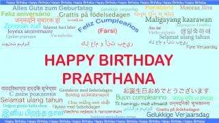 Prarthana   Languages Idiomas - Happy Birthday