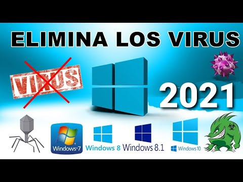 COMO ELIMINAR LOS VIRUS DE LA PC SIN ANTIVIRUS 2019. EN WINDOWS 10,8,8.1,7 (BIEN EXPLICADO)