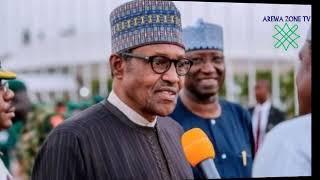NA SAN MANYAN NIGERIYA BA SA KAUNATA - BUHARI