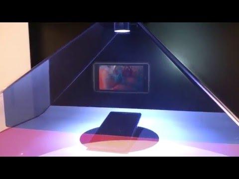 3d hologram at Orange Armenia