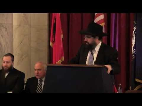 Jewish Leaders speak at the 100th Anniversary of Albania in Washington DC, Nov. 28th 2012