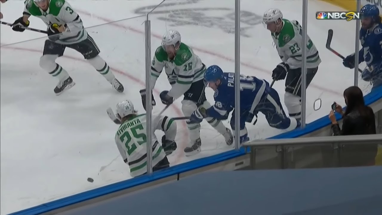 Ondrej Palat's Slashing Penalty(Dual-Feed)