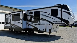 2015 Keystone Fuzion 371 Fifth Wheel Toy Hauler Walkthrough | 7463