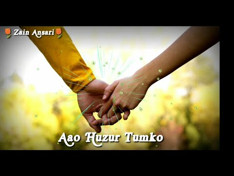 Aao Huzur Tumko song || Cover by Jonita Gandhi || Lyrical || new whatsapp status video 2018