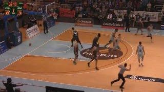Video Osvaldas Matulionis, MVP e #xogadorTucson da xornada 28 LEB