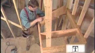 Видео строительство лестниц. Часть 3.(, 2010-08-09T18:35:08.000Z)