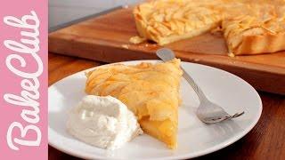 Apfeltarte (Tarte aux Pommes)| Apfelkuchen | BakeClub