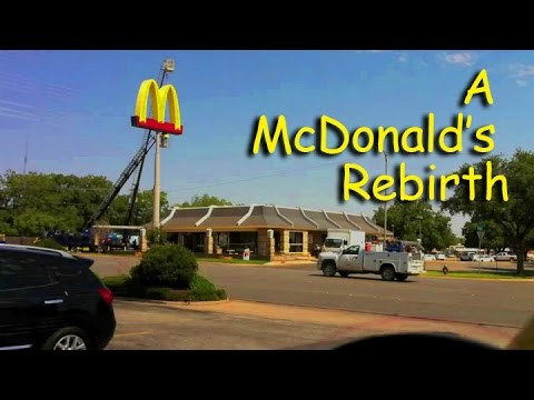 A McDonald's Rebirth -TIME LAPSE of 125 day construction - Abilene, Texas