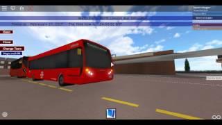 Roblox North London bus Simulator Enviro 200 Arriva London su 184 Route a Turnpike Lane