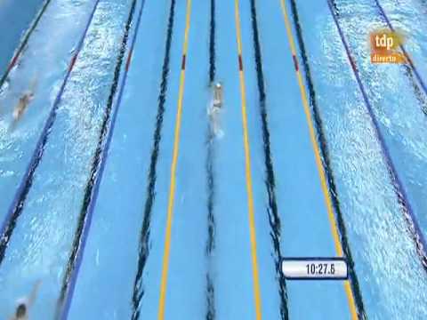 Shanghai Swimming WR Men's 1500m Freestyle, 1500 Libre masculino