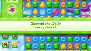 Candy Crush Jelly Saga Level 1324 (No boosters)