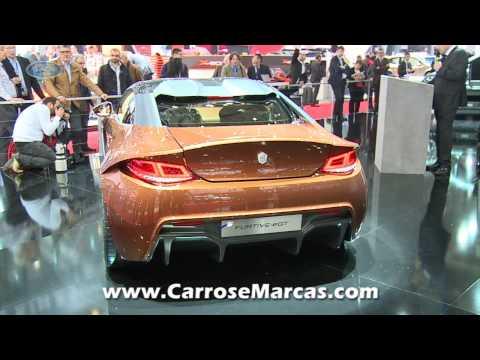 Exagon Motors Furtive eGT - Salão de Genebra 2013