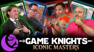 iconic masters with wedge and the professor game knights 12 l magic the gathering gameplay