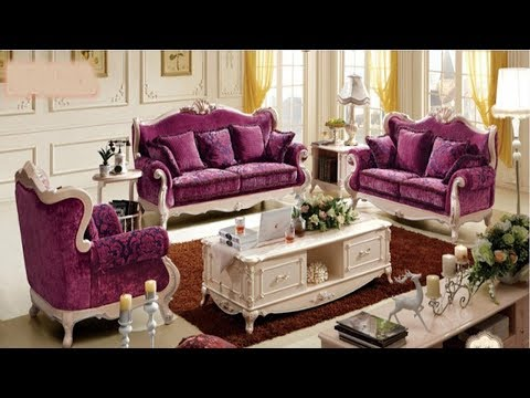 Sofa Set Designs Wooden Frame India For Living Room - Sofa Design In Pakistan For Bedroom - YouTube