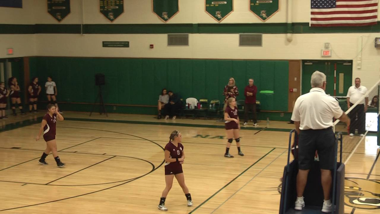NAC - NCCS JV Volleyball  9-15-16