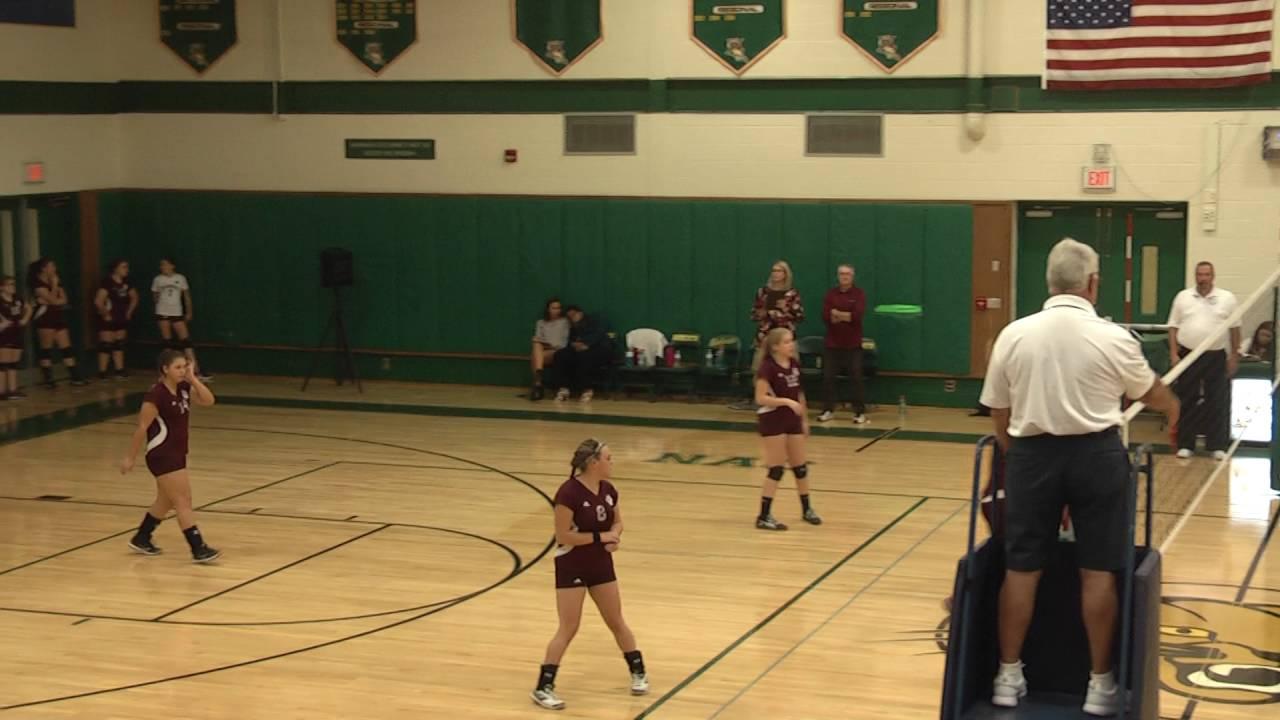 NAC - NCCS JV Volleyball  9-15-16
