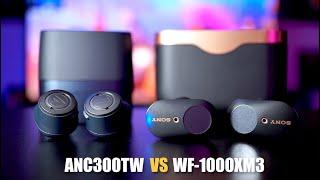Audio-Technica ANC300TW vs THE BEST Sony WF-1000XM3
