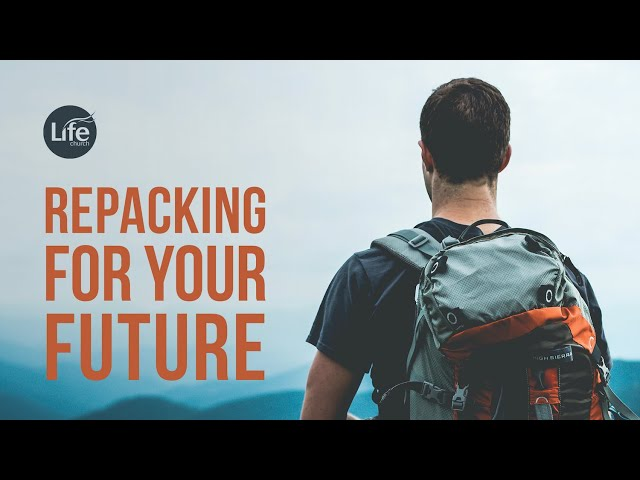 Repacking for Your Future | Rev Paul Jeyachandran