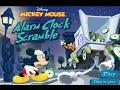 "Mickey Mouse Alarm Clock Scramble ""Disney Junior Games"" GAMEPLAY VİDEO"