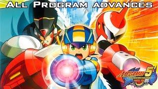 Mega Man Battle Network 5: Double Team DS - All Program Advances