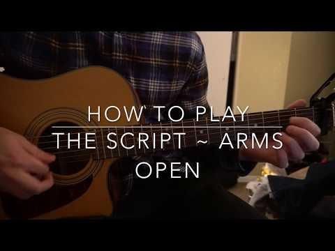Arms Open ukulele chords - The Script - Khmer Chords
