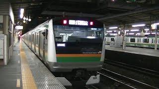 JR宇都宮線大宮駅4番線発車メロディ「Verde Rayo」(E233系普通熱海行き発車)