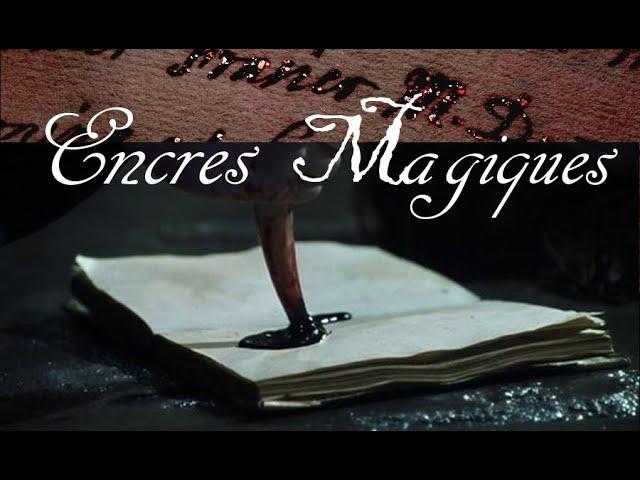 Nouvelle vidéo : ENCRE POUVOIR & MAGIE