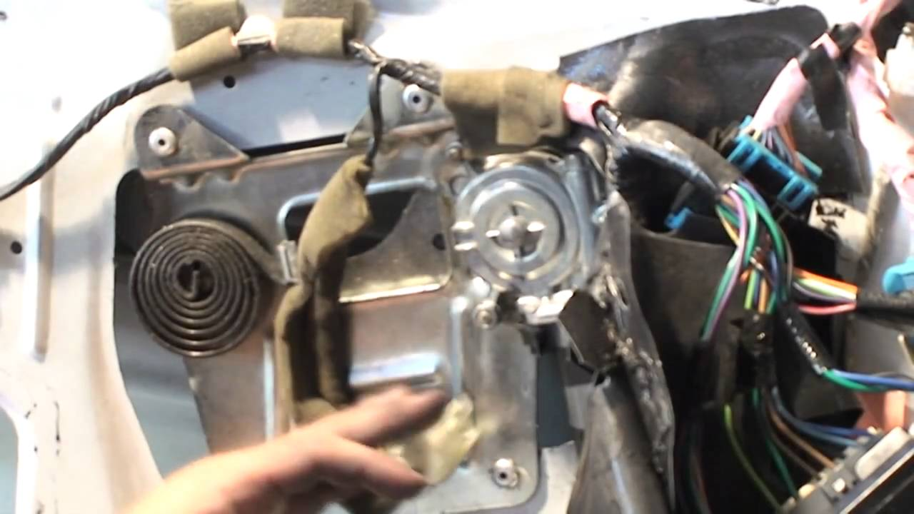 1992 Dodge Dakota Wiring Diagram Power Window Motor Install Youtube
