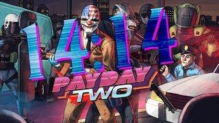 Payday 2 - Hotline Miami speedrun (14:14)