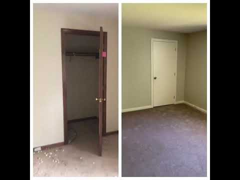 Before & After Side-by-side video Londonderry NH Condo Flip