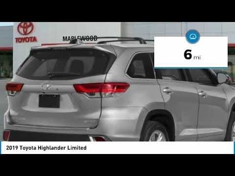 2019 Toyota Highlander Limited Maplewood, St Paul, Minneapolis, Brooklyn Park, MN K11896