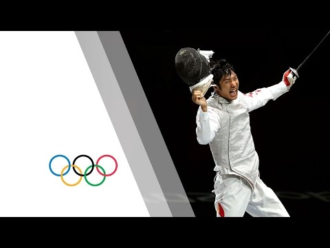 Lei Sheng Win's Men's Individual Foil Gold - London 2012 Olympics