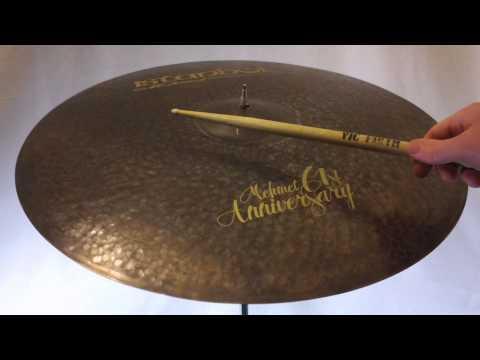 """Istanbul Mehmet 61st Anniversary Vintage Ride Cymbal 22"""" - 1915 grams"""