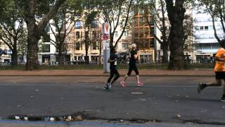 different running styles - human